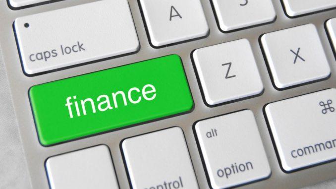 finance button keyboard