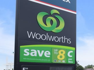 woolworths service station
