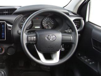 2015 toyota hilux steering wheel