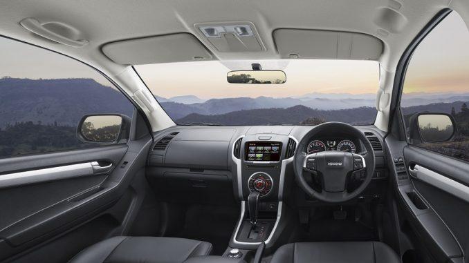 2018 isuzu d-max interior