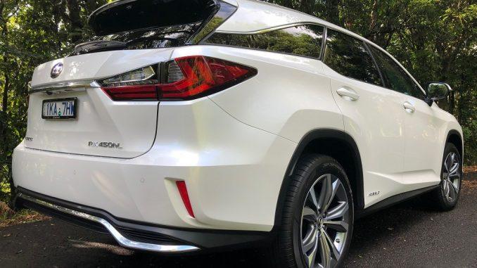 2018 lexus rx l side rear