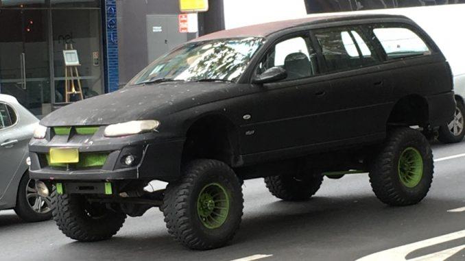 holden commodore monster truck