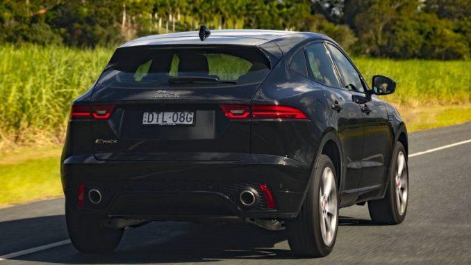 rear styling jaguar e-pace