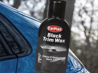 carplan black trim wax