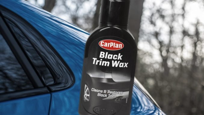 carplan black trim wax