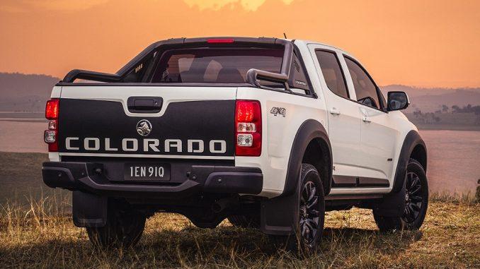 rear - holden colorado lsx