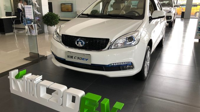 great wall electric car
