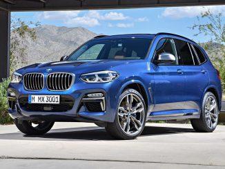 2018 BMW X3 30i X-line front