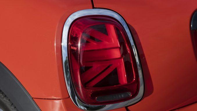 mini union jack taillights