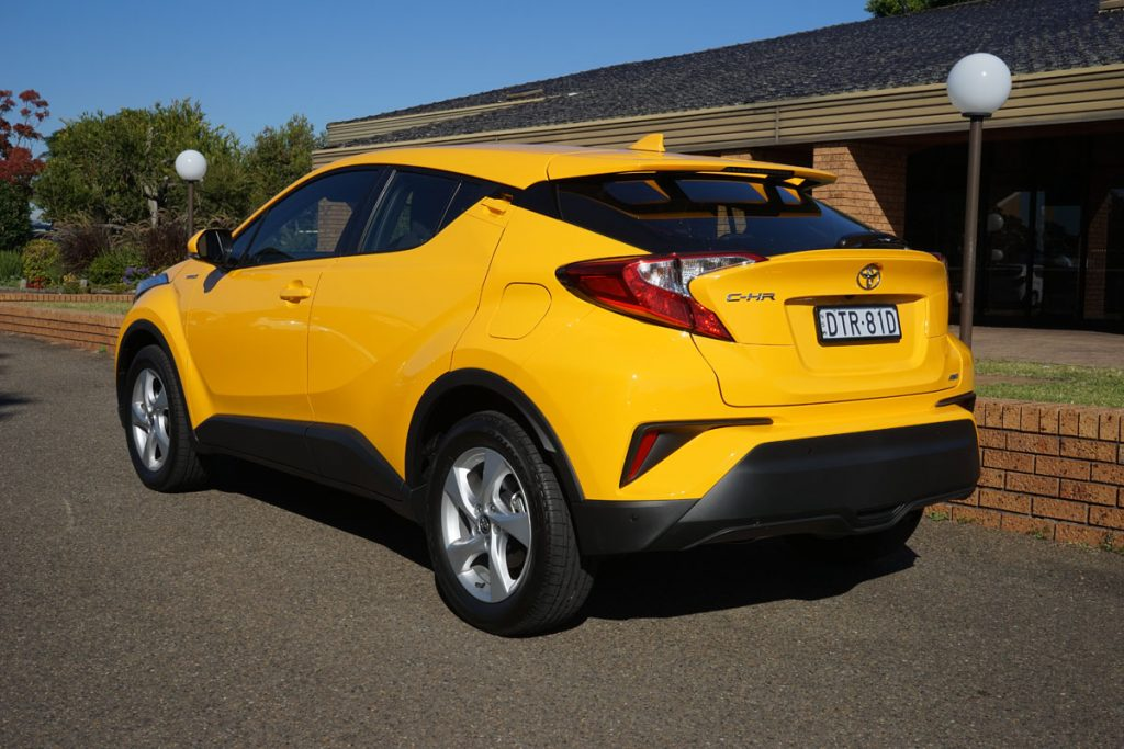 2018 Toyota C-HR Koba rear