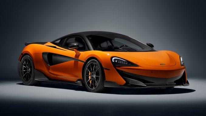 McLaren 600LT front