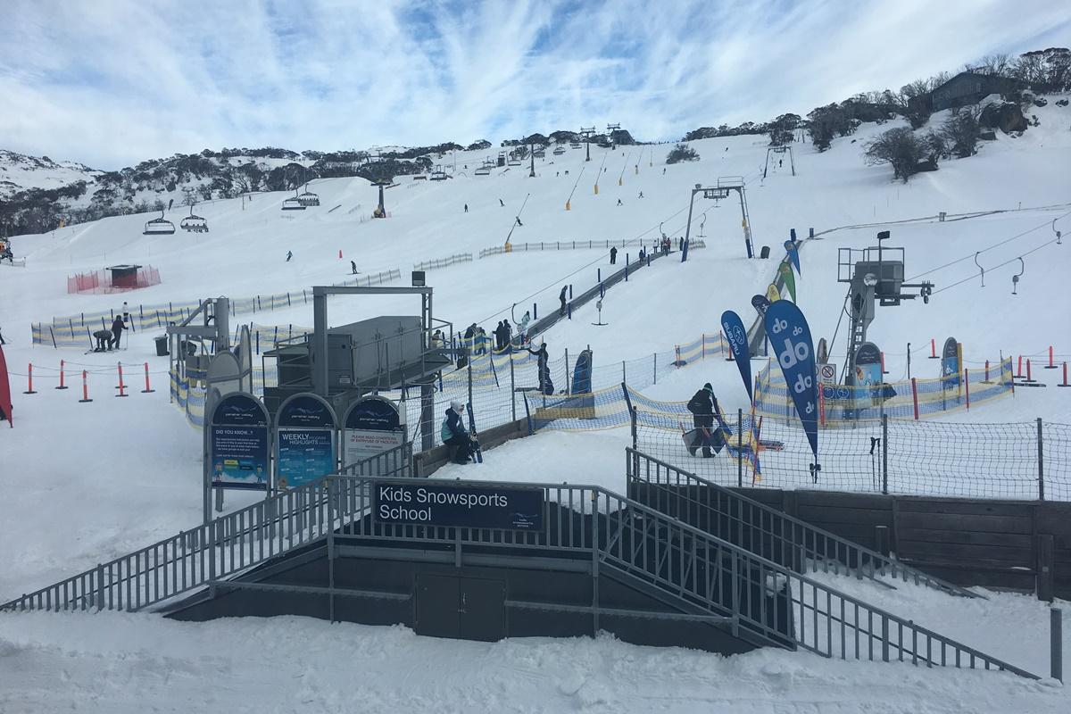Subaru Perisher Valley snow