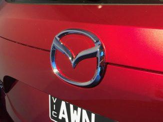 mazda car badge 2018