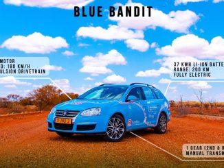 blue bandit ev