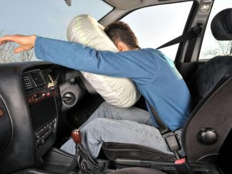 airbag deploy car driver