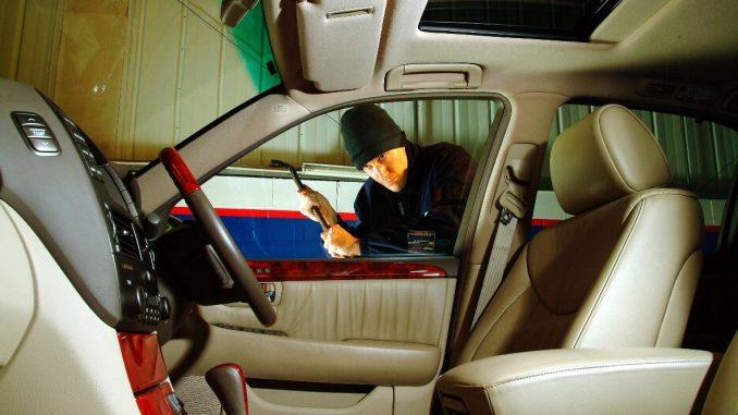 car thief luxury car